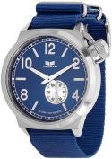 Men's Blue Vestal Canteen Zulu Watch CAN3N07