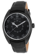 Ben & Sons 10014-BB-01-GA Voyager Black Genuine Leather and