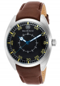 Ben & Sons 10014-01-CWBA-BRS Voyager Brown Genuine Leather B