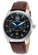 Ben & Sons 10010-01 Marshall Multi-Function Brown Genuine Le