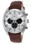 Ben & Sons 10005-02S Voyager Chronograph Brown Genuine Leath