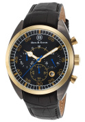 Ben & Sons 10005-GM-GB-01 Voyager Chronograph Black Genuine