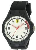 Ferrari Scuderia Laptime Silicone Mens Watch 0830279