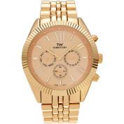 Territory Men's Chronograph Roman Numeral Dial Link Bracelet Fashion Watch, Gold