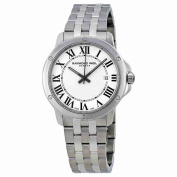 Raymond Weil Tango White Dial Stainless Steel Mens Watch 5591-ST-00300