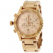 Nixon 42-20 Chrono Rose Gold-Tone Men's Watch, A037897
