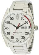 Ferrari Scuderia Stainless Steel Men's Watch, 0830178