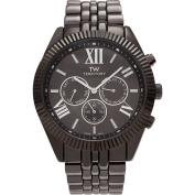 Territory Men's Chronograph Roman Numeral Dial Link Bracelet Fashion Watch, Gunmetal