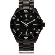 Territory Men's Round Face Tachymeter Link Fashion Watch, Gunmetal
