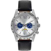 Game Time NFL Men's San Diego Chargers Letterman Series Watch