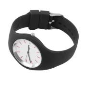 Fashion Men Women Silicon Strap Round Dial Sport Leisure Wrist Watch Jewellery .