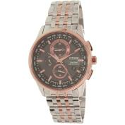 Citizen Eco-Drive World Chronograph A-T Men's Watch, AT8116-57E