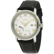 Citizen Eco-Drive Leather Men's Watch, AW7020-00A