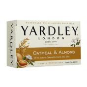 Yardley London Natural Oatmeal And Almond, Moisturising Bar Soap - 130ml