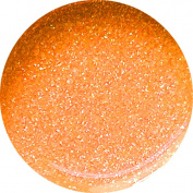 Neon Glitter Glam Nail Art UV Gel 5 ml), Cyn + Neon Tangerine 5% Pure Silver Offset + + WITH.