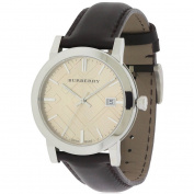 Burberry Smooth Brown Leather Mens Watch BU9011