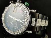 Gucci Mens Custom Diamond Gucci Watch 9.0 Ct