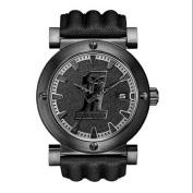 Harley-Davidson Men's Bulova Black #1 Racing Skull Wrist Watch 78B131, Harley Davidson