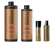 Revlon Style Masters Curly Shampoo 1000ml, Conditioner 750ml, Curly Orbital 150ml and Curly Fanaticurls 150ml