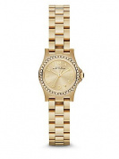 Marc by Marc Jacobs Women's Crystal & Goldtone Stainless Steel Logo Watch MBM3277