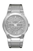 Harley-Davidson Men's Bulova Bar & Shield Wrist Watch 76A134, Harley Davidson