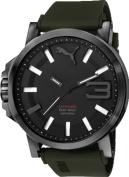 Men's Puma Ultrasize Green Silicone Watch PU103911002