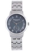 Rudiger Men's R3000-04-011 Leipzig Grey Dial Stainless Steel Wristwatch