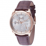 Rudiger Mens Hamelin Leather calfskin Brown Watch