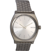 Nixon Mens Time Teller Stainless Steel Case and Bracelet Silver Watch A0451920