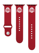 Ohio State Buckeyes Silicone Sport Band Fits 42mm Apple Watch™