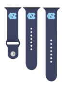 North Carolina Tar Heels Silicone Sport Band Fits 42mm Apple Watch™