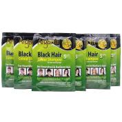 Aptoco 10 Bags Temporary Black Colour Hair for Men Women