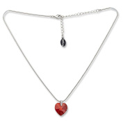 Till Quartz Necklace with Crystals Women Necklace Pendant Heart of the Ocean Classic Titanik Jewellery Chain Necklace for women with Kistallen