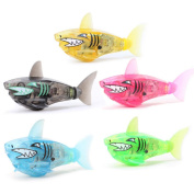 HARRYSTORE Child Baby Kids Bath Toy Powered Funny Swimming Shark Toys Robot Toy Bathing Accessories Fish Toy