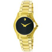 Movado Women's Masino 0607027 Gold Stainless-Steel Swiss Quartz Fashion Watch