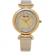 SO & CO New York Women's SoHo Leather/Mineral Strap Watch