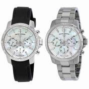 Set of Two Swiss Legend Legasea Ladies Watches 16527SM-02 & 16526SM-22