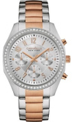 Caravelle New York Womens Stainless Steel Case and Bracelet Silver Dial Silver Watch - 45L148
