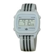 Adidas ADH2732 Unisex Sydney Digital Dial White & Grey Nylon Strap Chronograph Watch