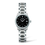 Longines Master Collection Black Dial Stainless Steel Automatic Ladies L21284576