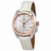 Omega Seamaster Aqua Terra Automatic Mother of Pearl Dial Ladies Watch 23123342055001