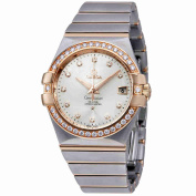 Omega Constellation Silver Dial Ladies Watch 123.25.35.20.52.001