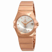 Omega Constellation Automatic Silver Dial Ladies Watch 123.50.35.20.52.001
