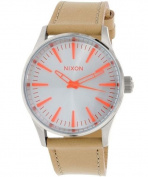 Nixon Boyfriend-Style Leather Women's Watch, A3772089