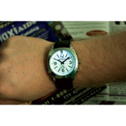 Reizen Talking Atomic Watch with Top Light - Leather Band