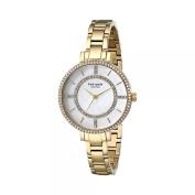 kate spade new york Women's 1YRU0692 Gramercy Gold-Tone Stainless Steel Watch with Link Bracelet