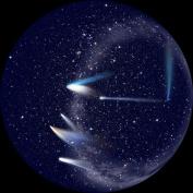 Comets for Sega Toys Homestar Planetarium