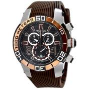 MULCO Unisex MW1-74197-035 Analogue Display Swiss Quartz Brown Watch