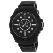 Juicy Couture 1900905 Women's Surfside Black Dial Black Silicon Strap Watch