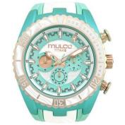 Mulco Women's Titans Wave Watch Quartz Mineral Crystal MW5-1836-433